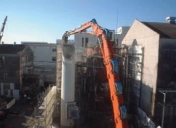 焼却炉解体・土壌汚染処理
